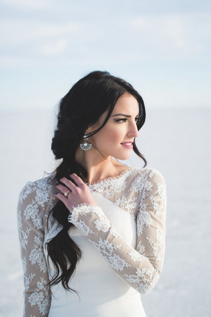 Gorgeous 18 Year Old From France: 18 Gorgeous Winter Wedding Dresses And Accessories