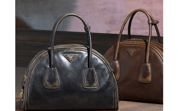 e5318a986df38 Prada Vintage Calf Leather Tote Bag - New Fall-Winter 2013 Collection photo- 001